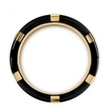 Muramasa Flat Black and Gold Tungsten with Black Diamonds