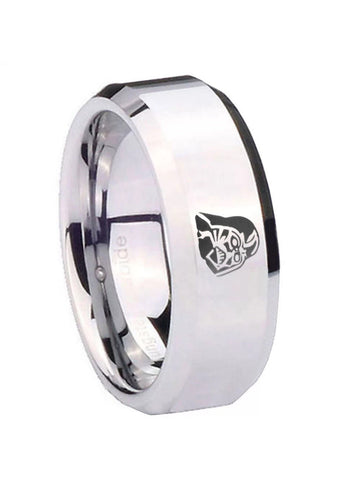 Darth Vader Men's 8mm Tungsten Carbide Wedding Band