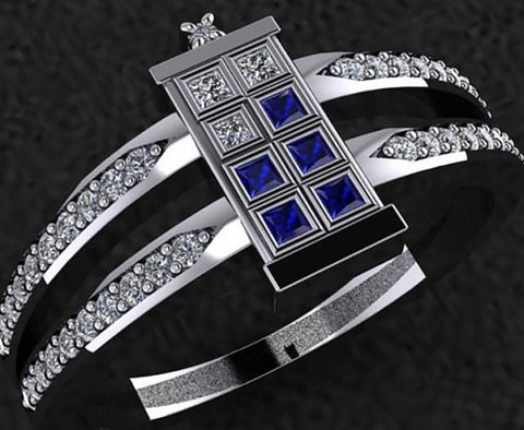 Double band Tardis Ring