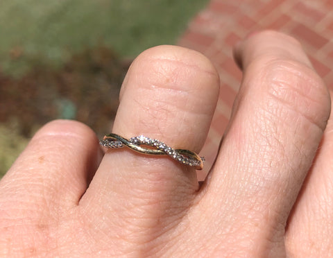 Braided Eternity Band