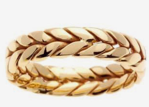 18k Braided Band
