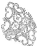 Royal Filigree Cocktail Ring