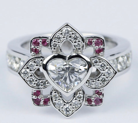The Love Lotus Engagement Ring
