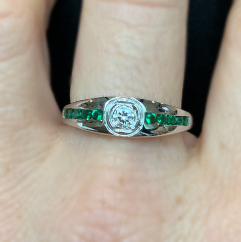 Green Lantern Engagement Ring