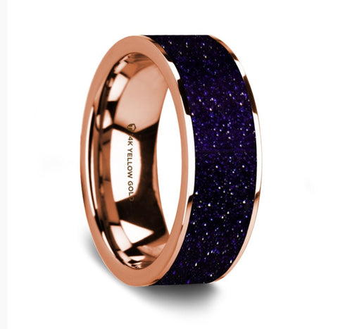 The Galaxy Wedding Band