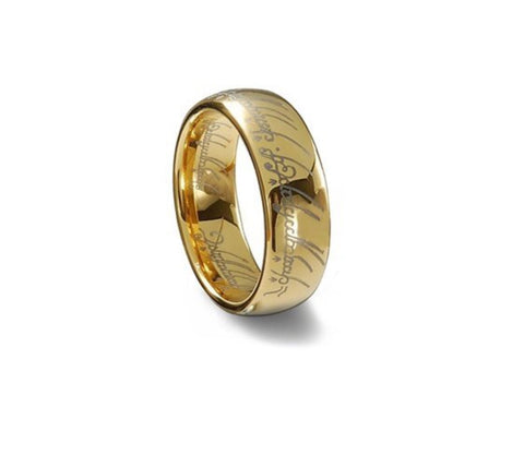 "Lord of the Rings ""The One"" Tungsten Ring"