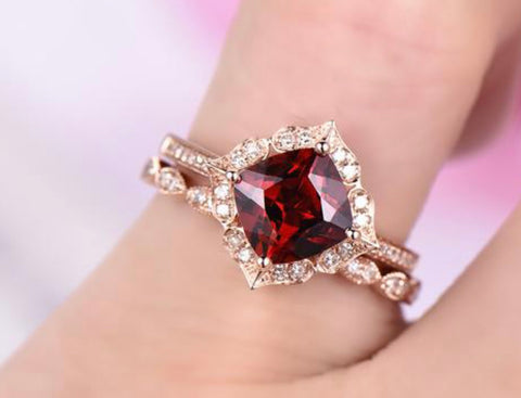 Garnet Moroccan Wedding Set