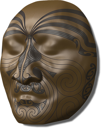 Māori Head Sculpture Rendering in Rhino by 3DM-WORLD