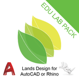 Lands Design Lab for Rhino or AutoCAD
