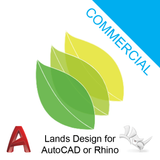 Lands Design Commercial for Rhino or AutoCAD
