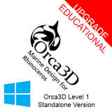 Orca3D Level 1 Educational Upgrade (Standalone Version)