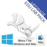 Rhino 7 Upgrade Educational Lab [R70U-LAB] for Windows or Mac