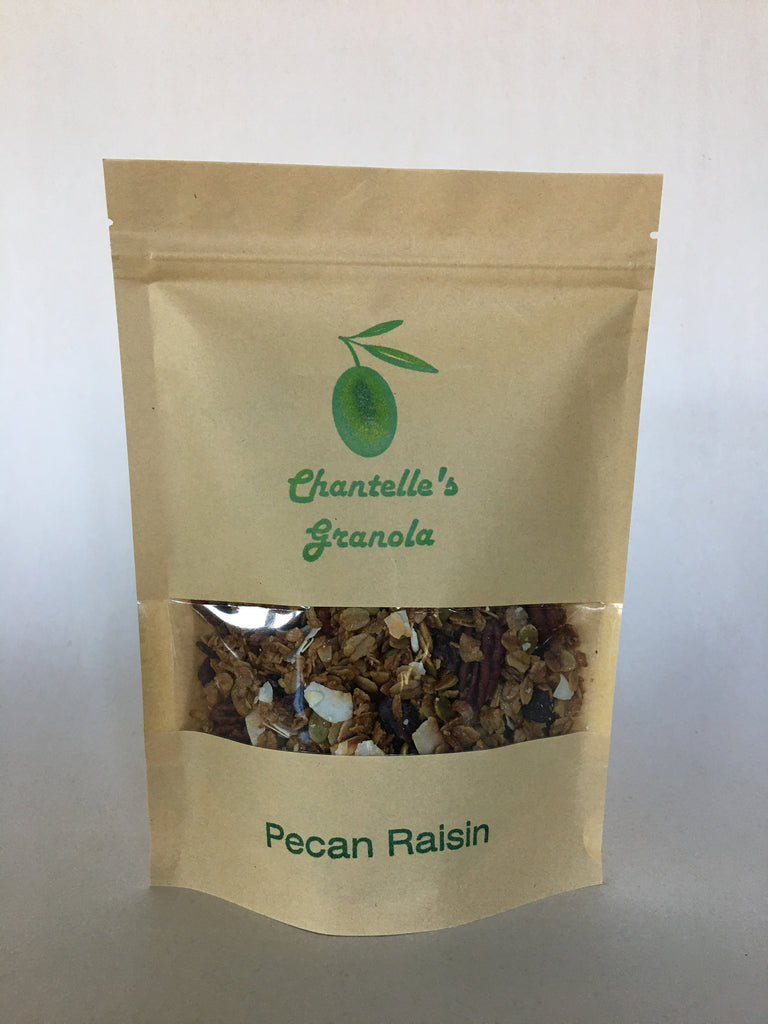 Granola: Pecan Raisin 1/2 lb. Bag