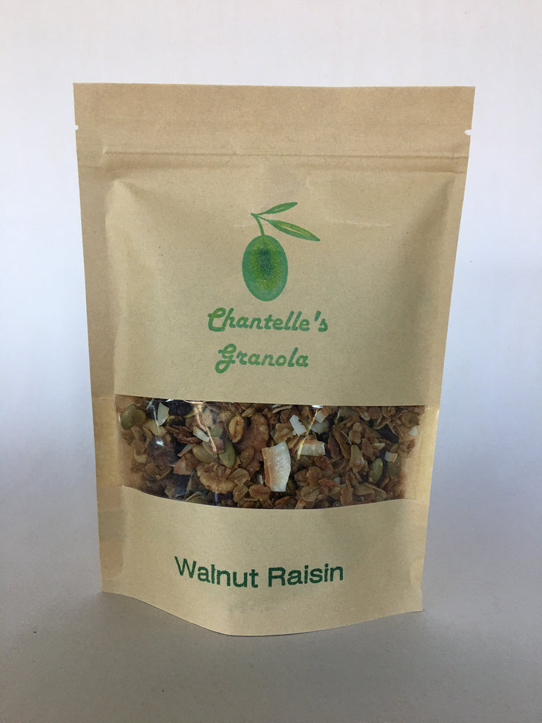 Granola: Walnut Raisin 1/2 lb. Bag