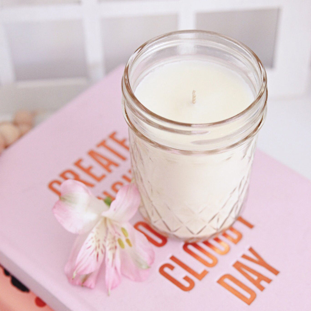 Quilted Jar Candle