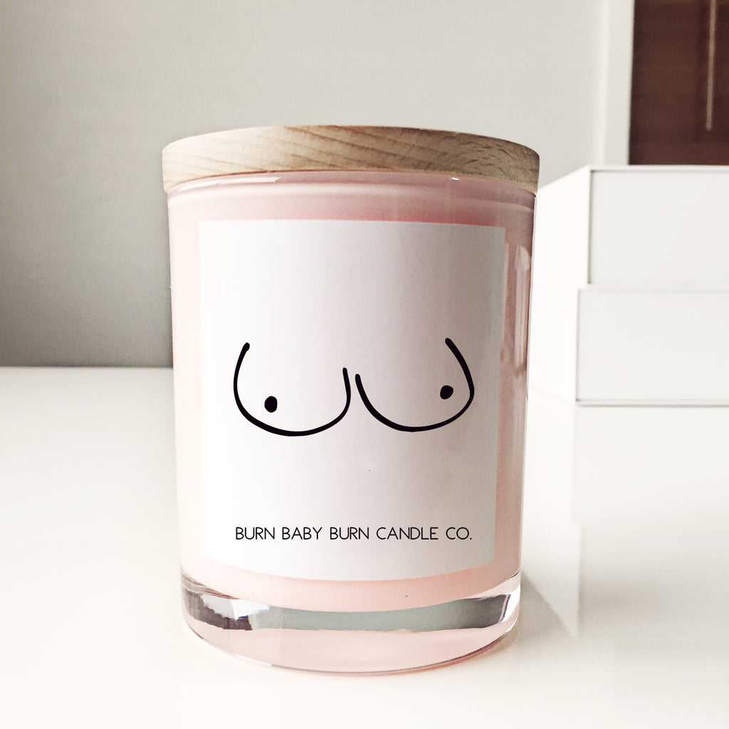 Breast Cancer Candle - Pink