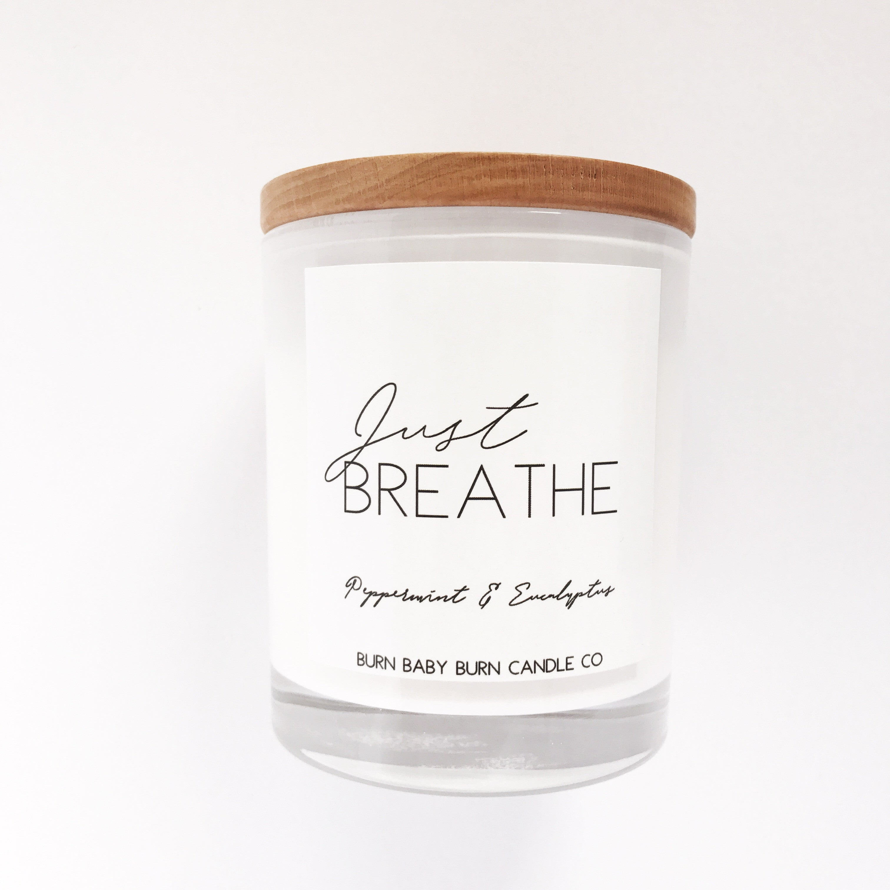 Just Breathe - White