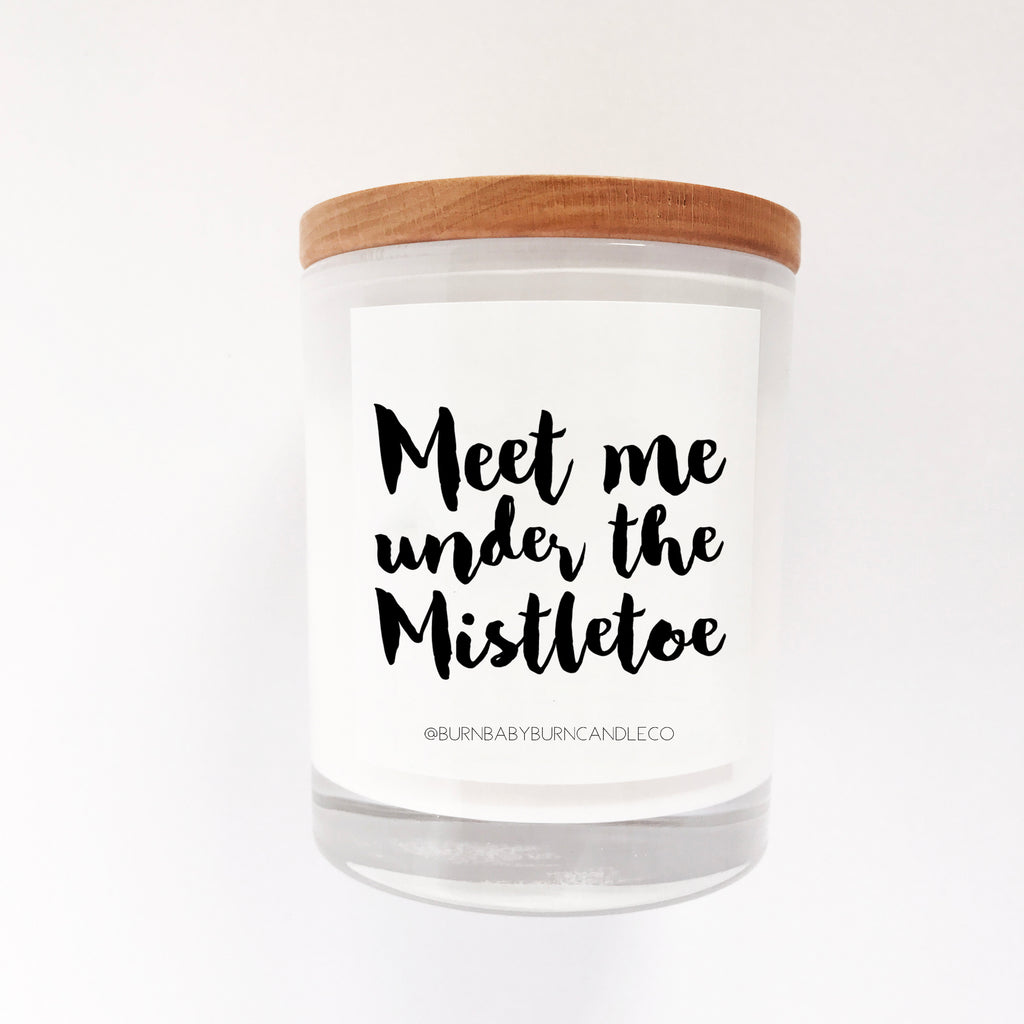 Meet me under the Mistletoe
