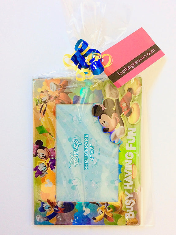 Loot Bag Heaven Disney Mickey Mouse Frame Loot Bag - LOOT BAG HEAVEN