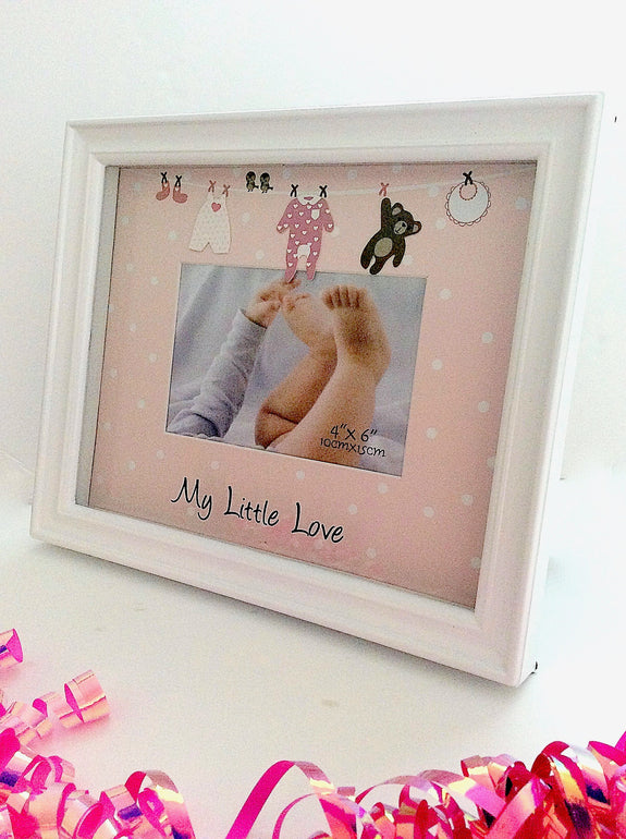 Loot Bag Heaven My Little Love Girl Picture Frame Loot Bag - LOOT BAG HEAVEN