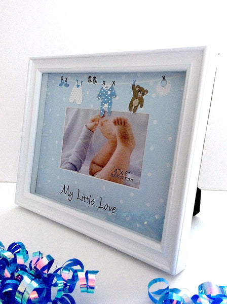 Loot Bag Heaven My Little Love Boy Picture Frame Loot Bag - LOOT BAG HEAVEN