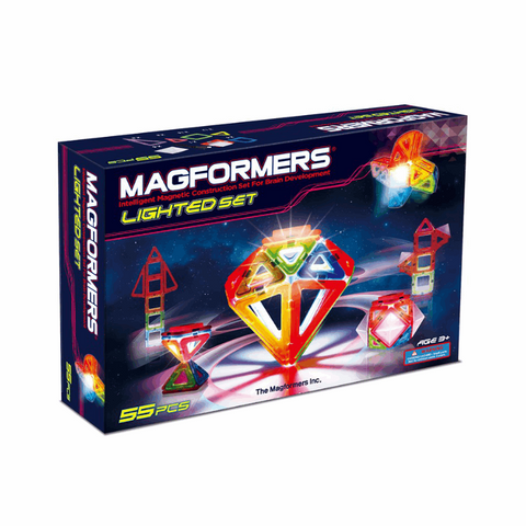 Image of   Magformers med lys
