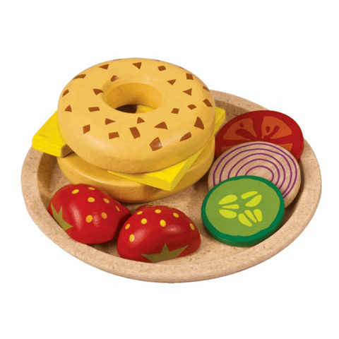 Plantoys bagel med ost