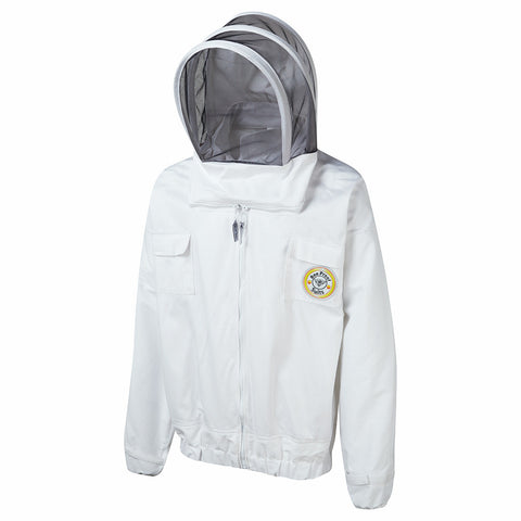 Bee Keeper's Jacket with Throw Back Hood