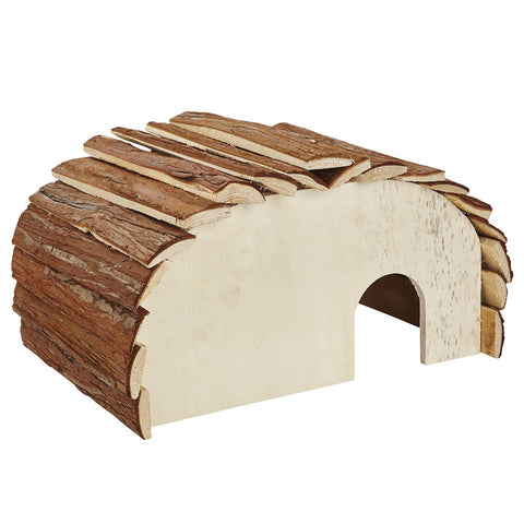 Wooden Hedgehog House, Feeding Station, Hibernation Shelter
