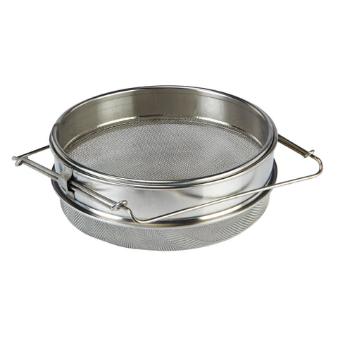 Stainless Steel Double Honey Strainer Beekeeping Equipment