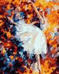 "DIY Painting By Numbers -  Colorful Ballet Dancer (16""x20"" / 40x50cm)"