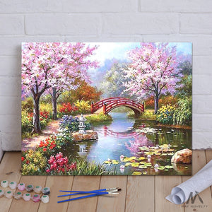"DIY Painting By Numbers - Fairyland (16""x20"" / 40x50cm)"