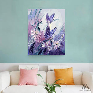 "DIY Painting By Numbers - Butterflies (16""x20"" / 40x50cm)"