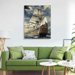 "DIY Painting By Numbers -  Sailing Boat (16""x20"" / 40x50cm)"