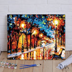"DIY Painting By Numbers - City Street (16""x20"" / 40x50cm)"