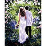 "DIY Painting By Numbers -  Wedding (16""x20"" / 40x50cm)"