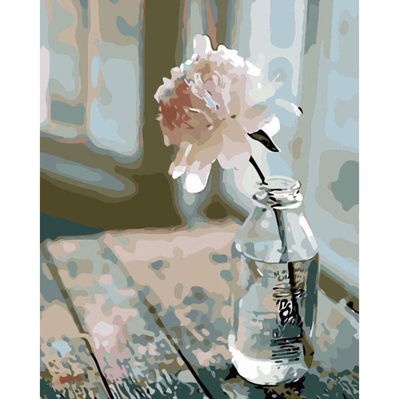 "DIY Painting By Numbers -Flower In A Bottle (16""x20"" / 40x50cm)"