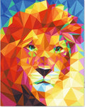 "DIY Painting By Numbers -Colorful Lion  (16""x20"" / 40x50cm)"