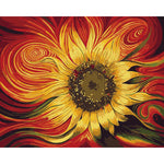 "DIY Painting By Numbers - SunFlower (16""x20"" / 40x50cm)"