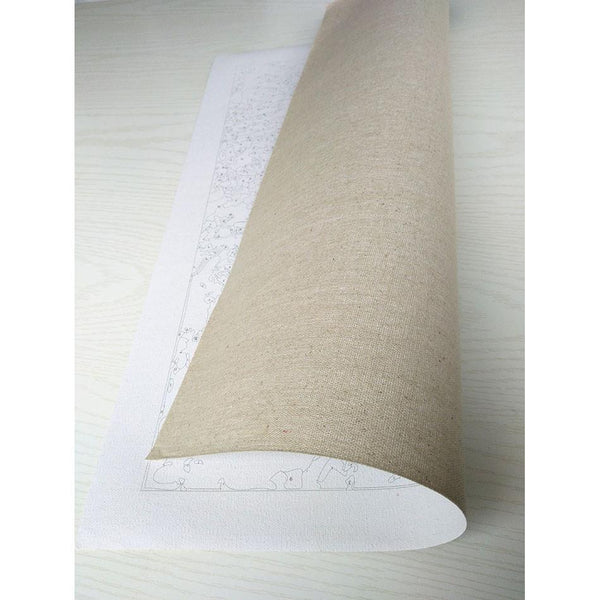 "DIY Painting By Numbers - Girl With Tattoo (16""x20"" / 40x50cm)"