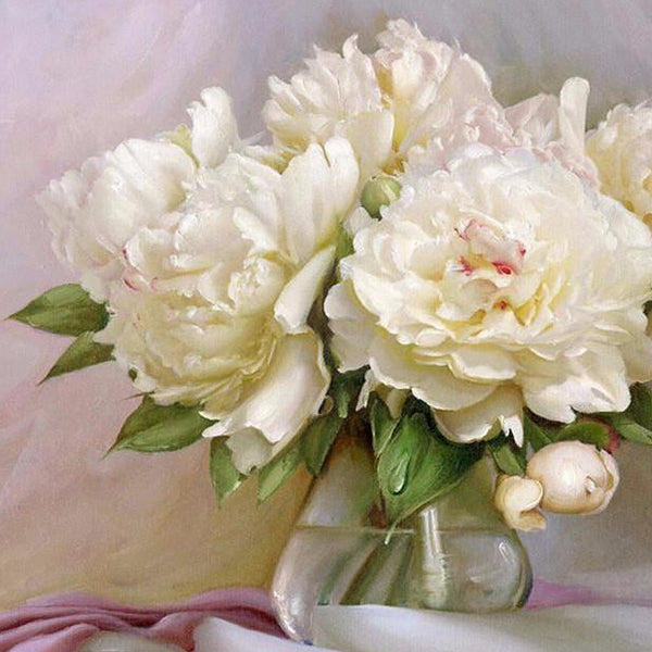 Products tagged flower page 4 max novelty diy painting by numbers white flowers 16x20 mightylinksfo Image collections