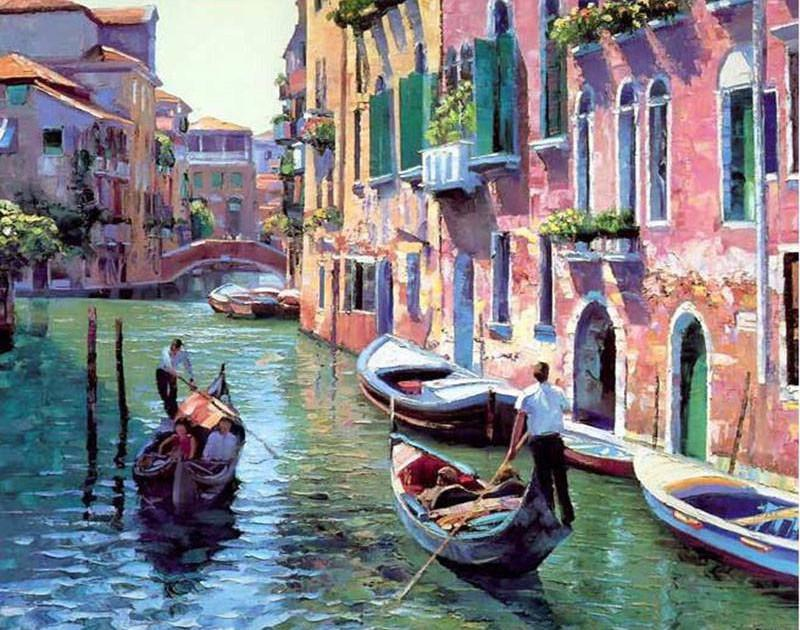 Diy Painting By Numbers Venice 16 Quot X20 Quot 40x50cm Max Novelty