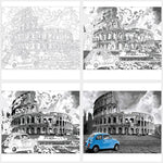"DIY Painting By Numbers -  Colosseum (16""x20"" / 40x50cm)"