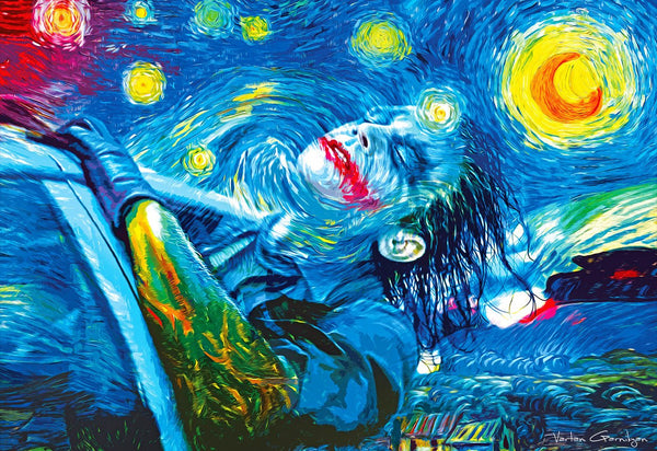 DIY Painting By Numbers -  Starry Knight
