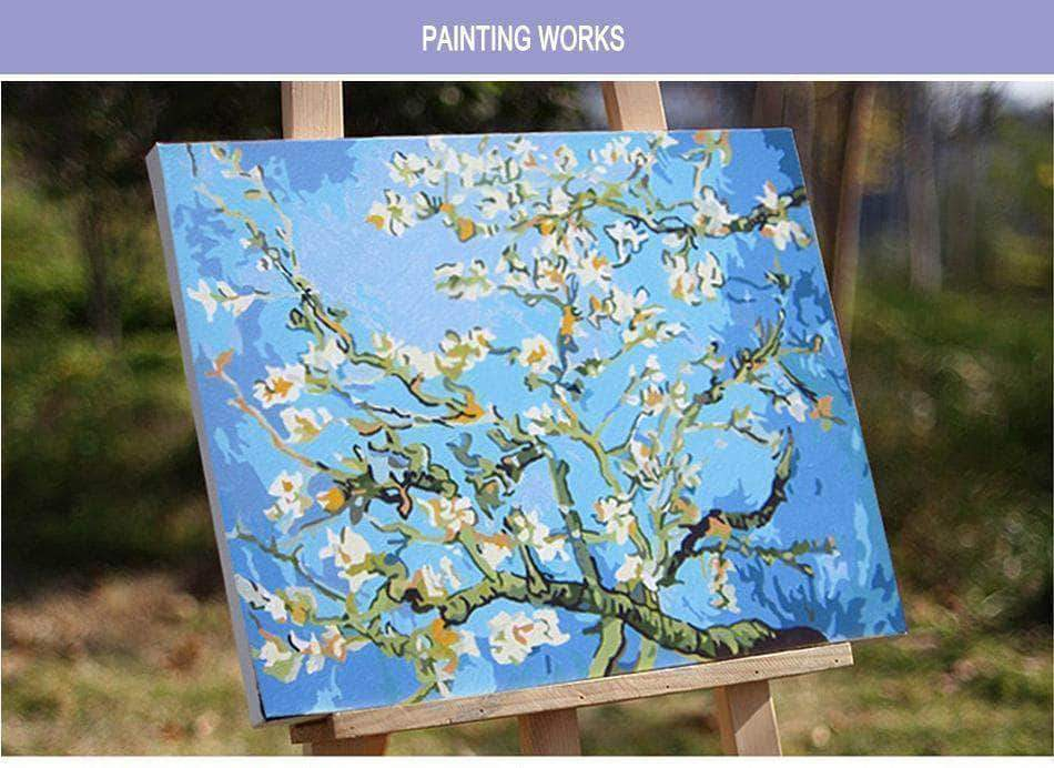 Pine Wood Frame for Paint by Numbers