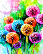 "DIY Painting By Numbers - Dandelion (16""x20"" / 40x50cm)"