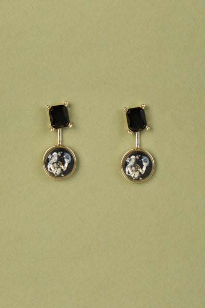 Detachable Pendant / Stud Earrings