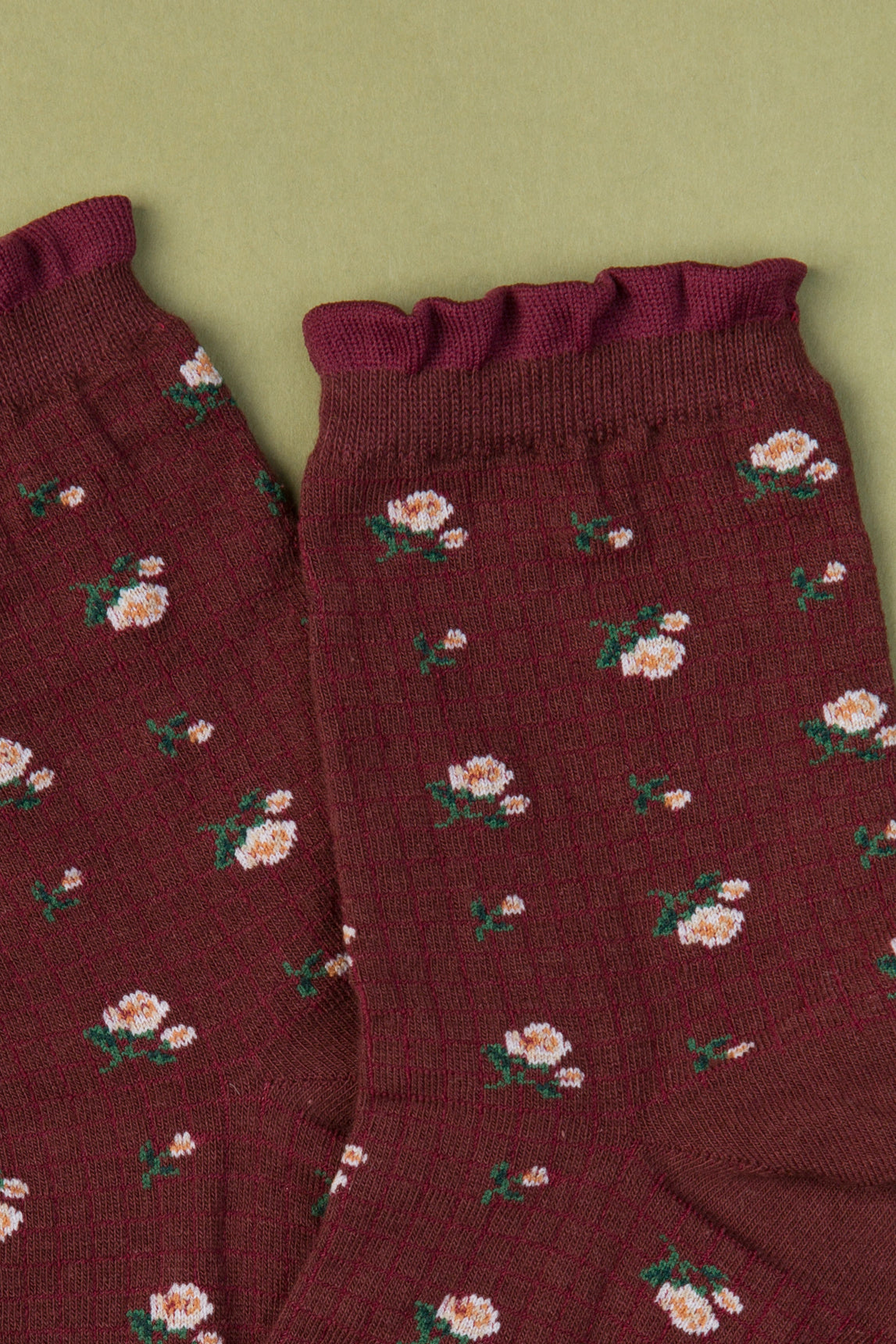 Floral Pattern Socks