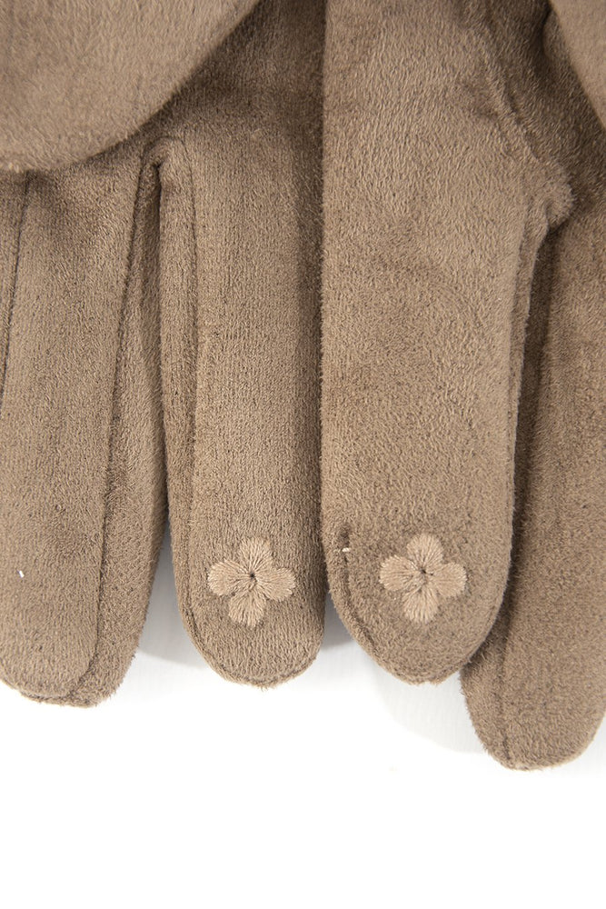 Taupe Gloves 4026TA