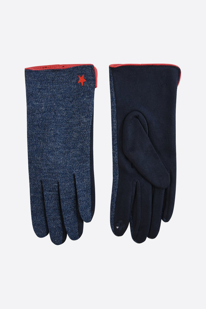 Navy/Red Gloves 4060NBRE